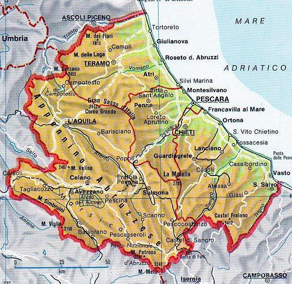 Elenco DOCG Abruzzo