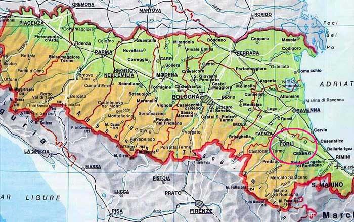 DOCG Emilia Romagna