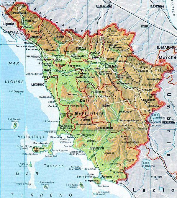 DOCG Toscana